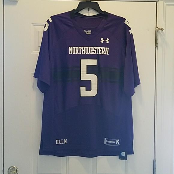 best website 1fc5b 9b092 Men's Northwestern Football Jersey NWT